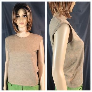 Size 36 Escada Merino Wool Sleeveless Sweater